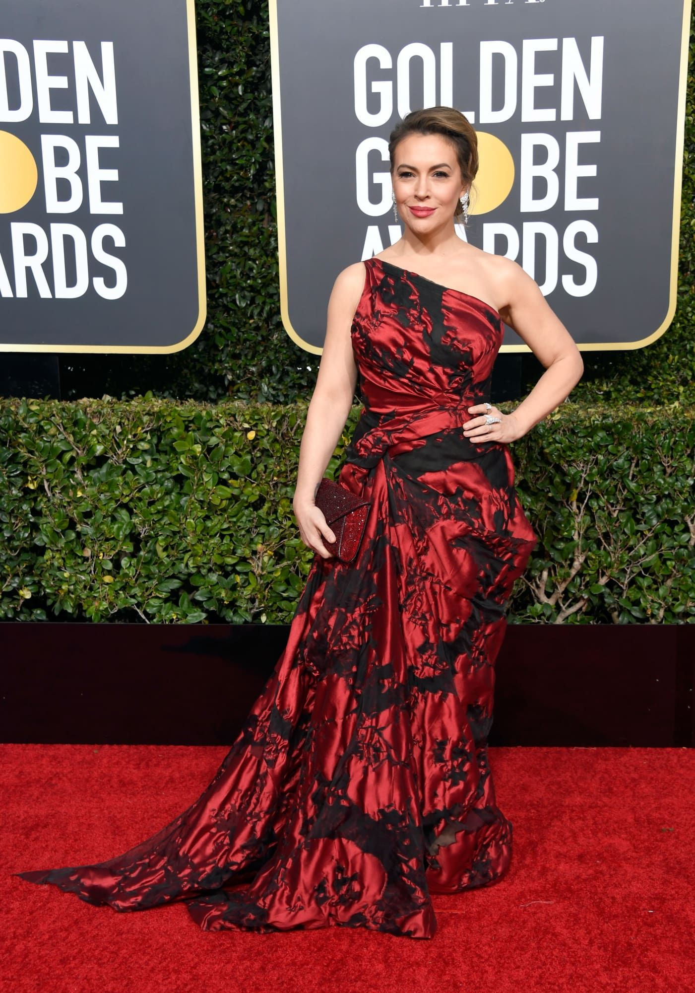 Golden Globes 2019 Every Look From The Red Carpet Strapless