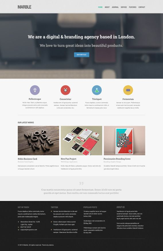 Marble Free Homepage Psd Beautiful Website Templates Travel Slogans Psd