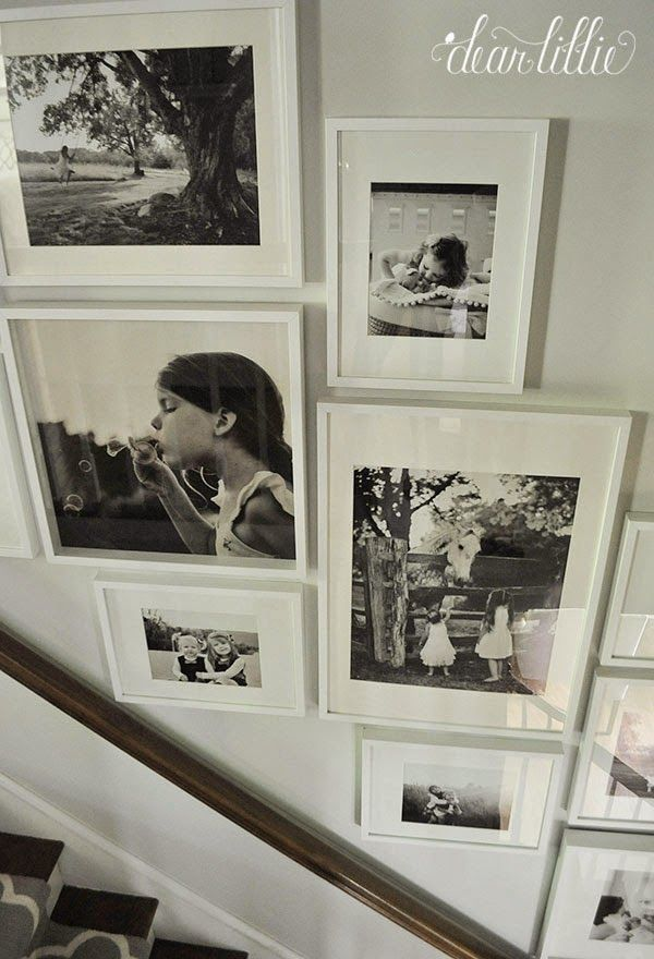 Image Result For Ikea Picture Frames Up Stairs Kitchenwalldecortraditional Gallery Wall Stairs Gallery Wall
