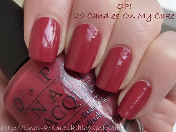 Opi 20 Candles On My Cake Discontinued Actually Found