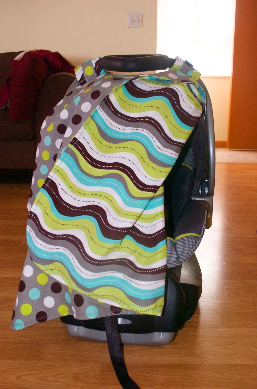A Little Time, A Little Miracle: Car Seat Canopy Tutorial for Sewing ...