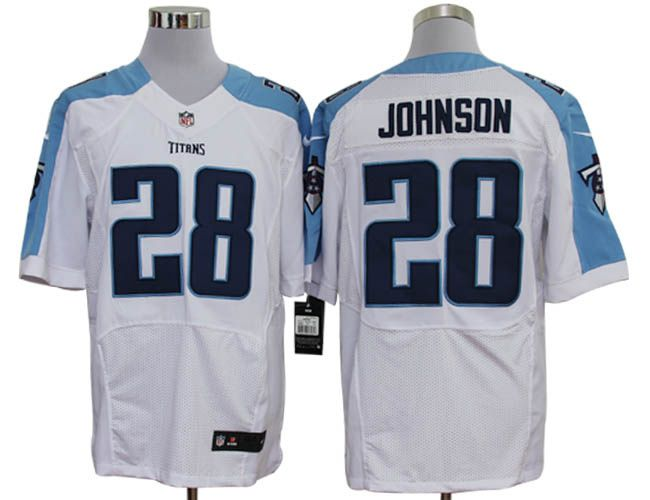 Nice Chris Johnson Jersey: Nike NFL Elite #28 Tennessee Titans Jersey In