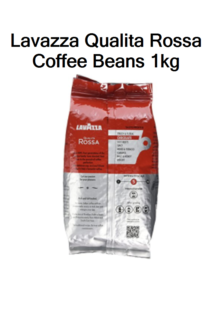 Lavazza Qualita Rossa Coffee Beans 1kg UK Prices