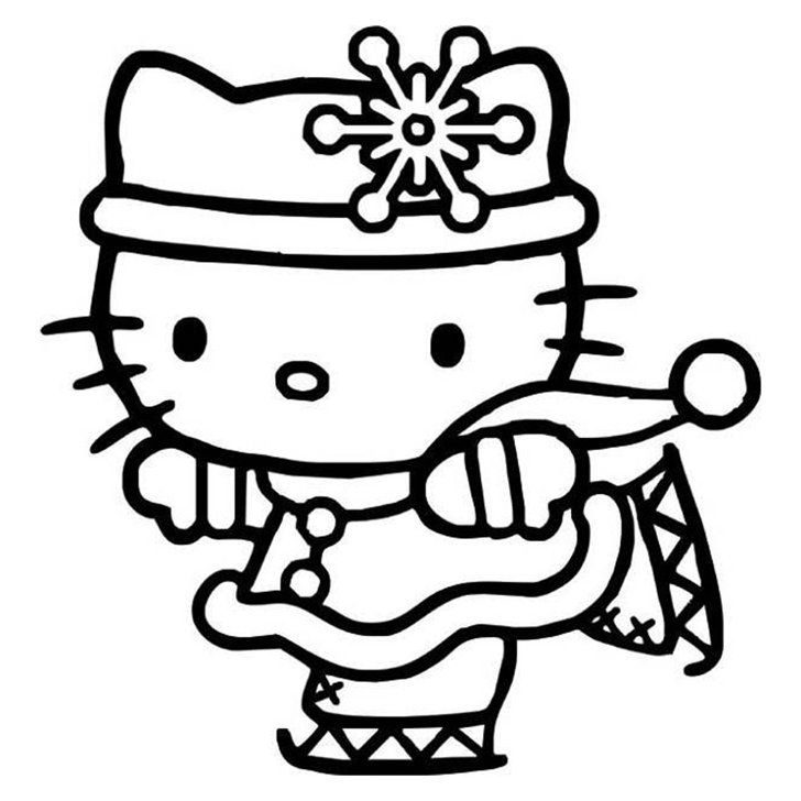 28 Pumpkin Stencils For The Best Hello Kitty Themed Halloween Hello Kitty Colouring Pages Hello Kitty Coloring Kitty Coloring