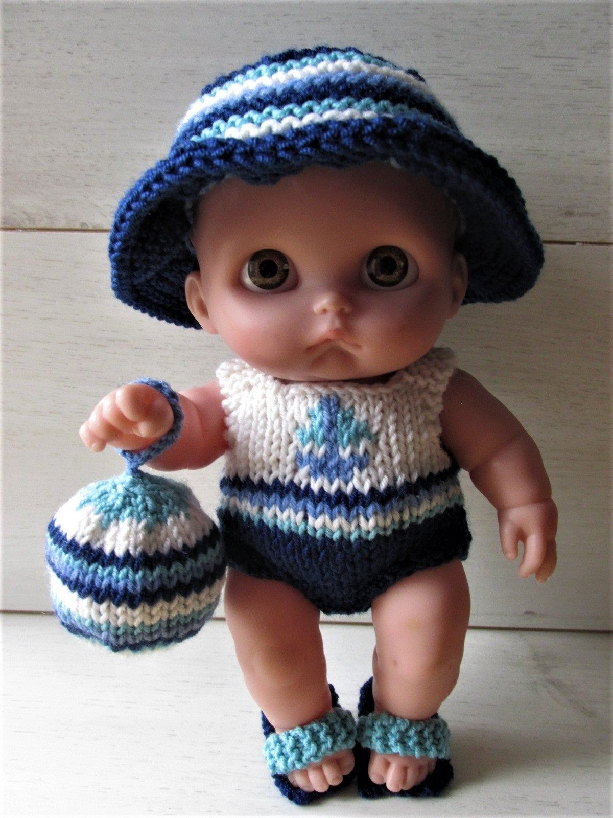 Berenguer Doll Clothes Knitting Pattern for 8.5 | Etsy in ...