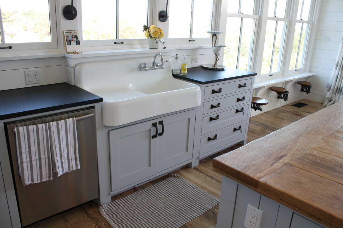 42 Cast Iron Wall Mount Kitchen Sink With Drainboard Kitchen