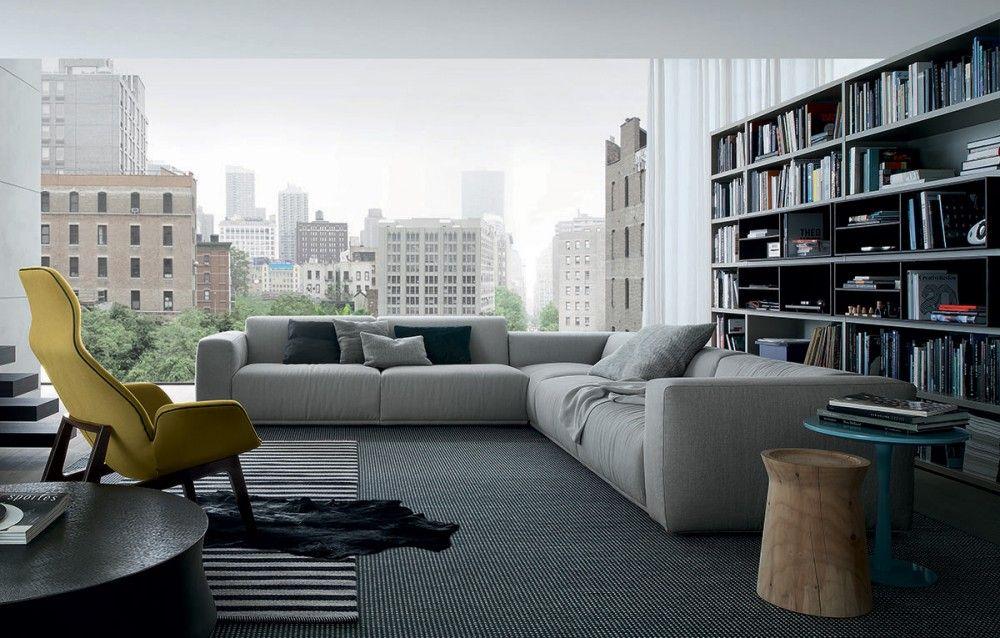 BOLTON Divano By Poliform Design Giuseppe Viganò | Poliform | Pinterest |  Fabric Sofa And Corner