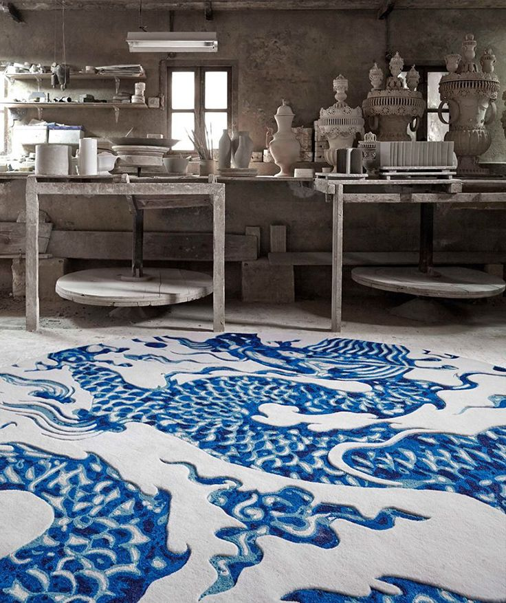 Alfombra Blue China de Gandía Blasco   Alfombras - muebles de diseño ...
