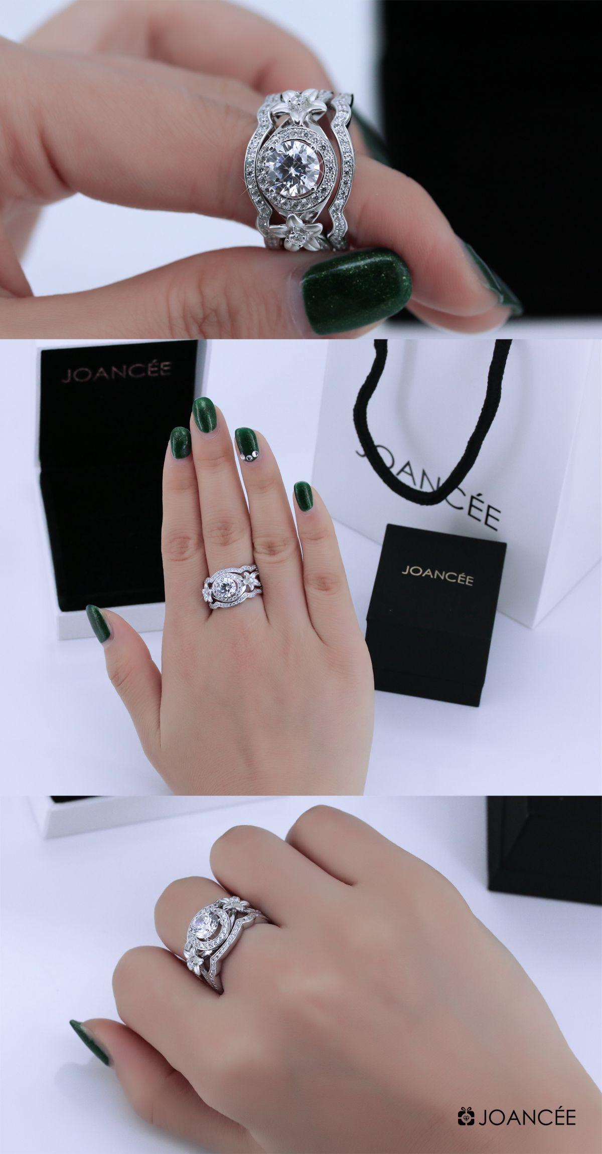 Joancee Bridal Ring Sets 810322 For Wedding Engagement