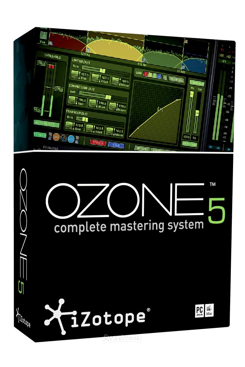 Izotope Ozone Mastering Suite Ozone, Video editing, System