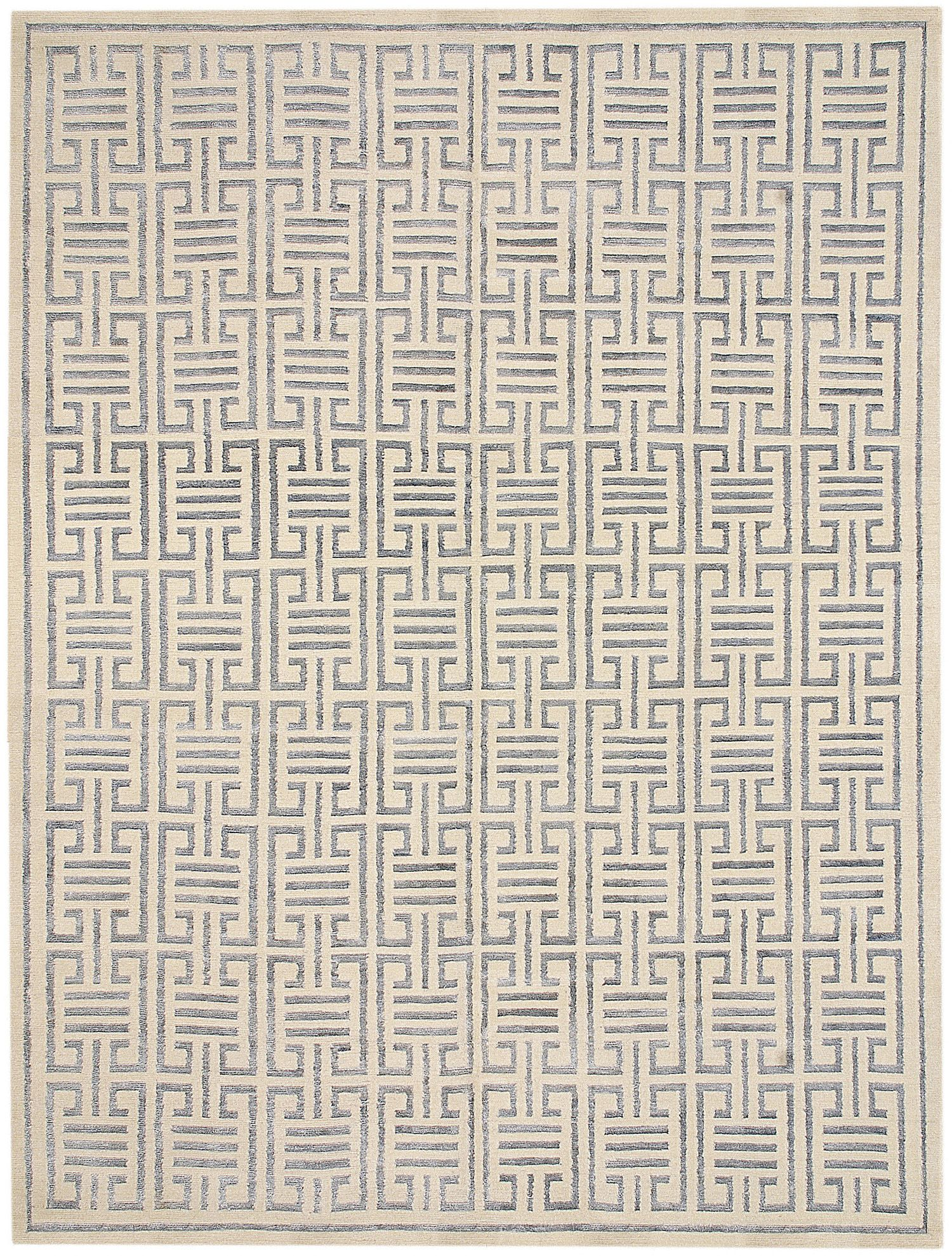 Mansour Modern Victoria Hagan Temple Rugs On Carpet