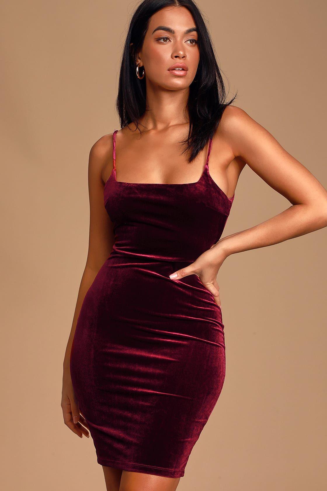 29+ Velvet fitted dress ideas