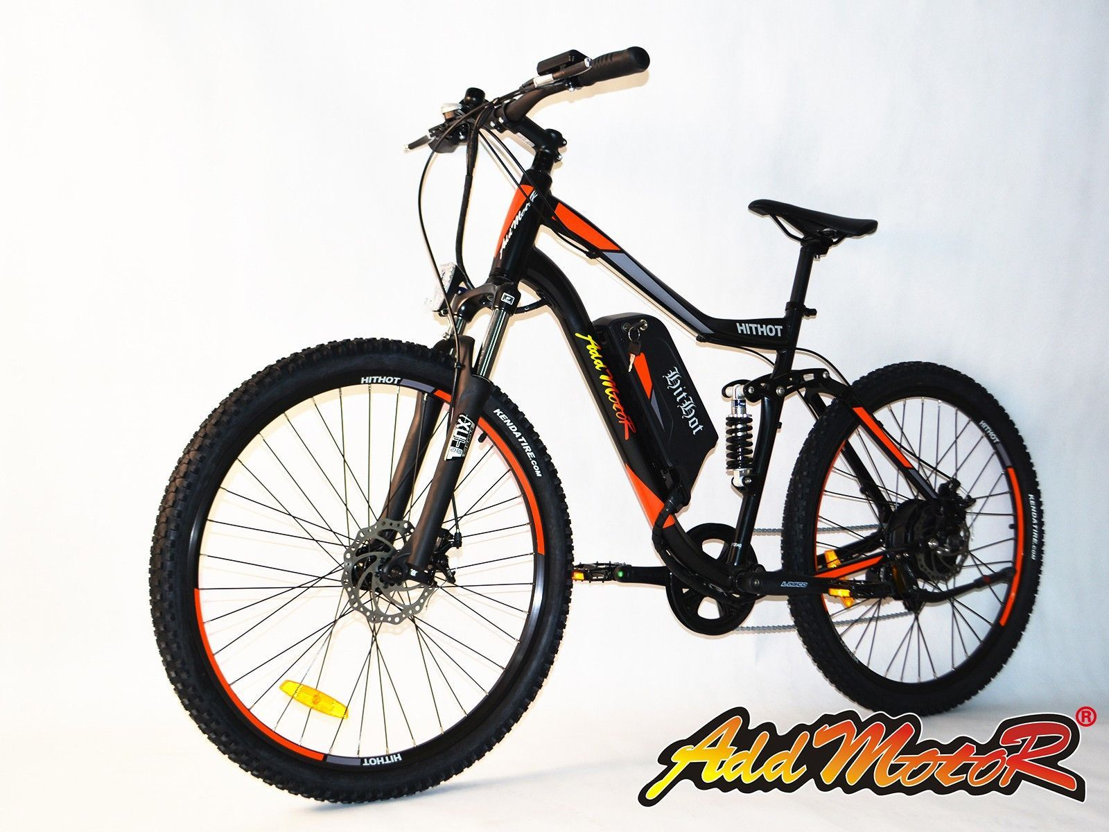 Addmotor Hithot H1 48v Dual Suspension Electric Mountain Bike