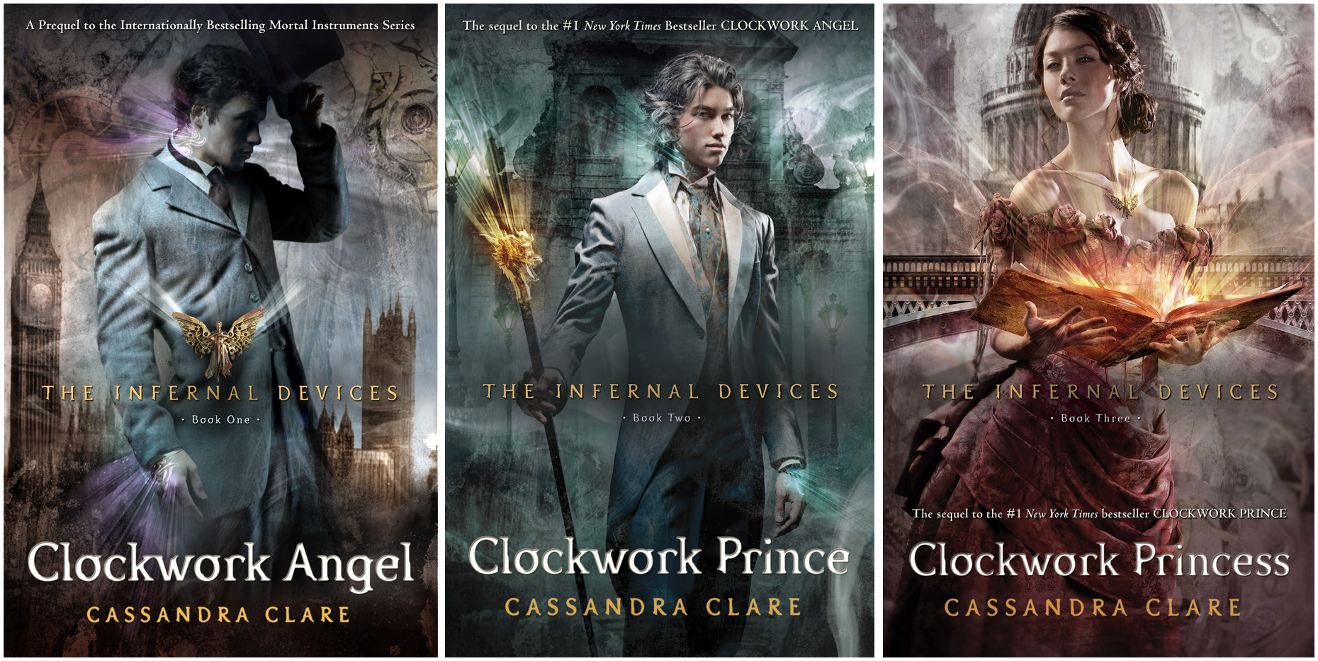Image result for the infernal devices series