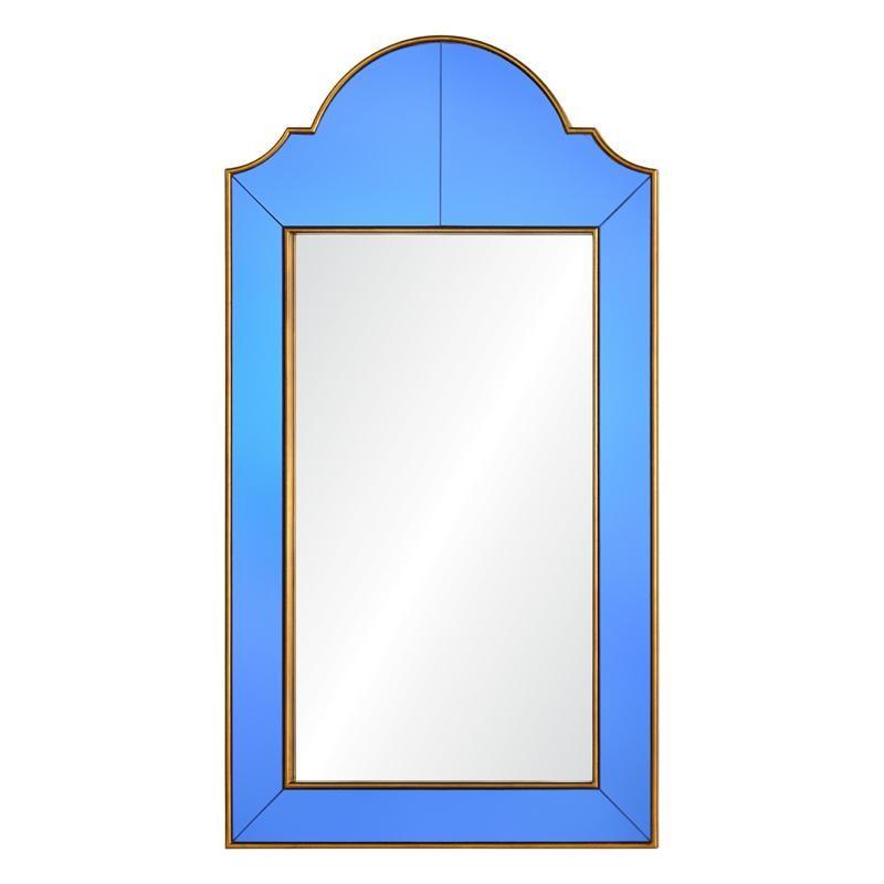 Round Top Queen Anne Mirror Sapphire Bunny Williams Home