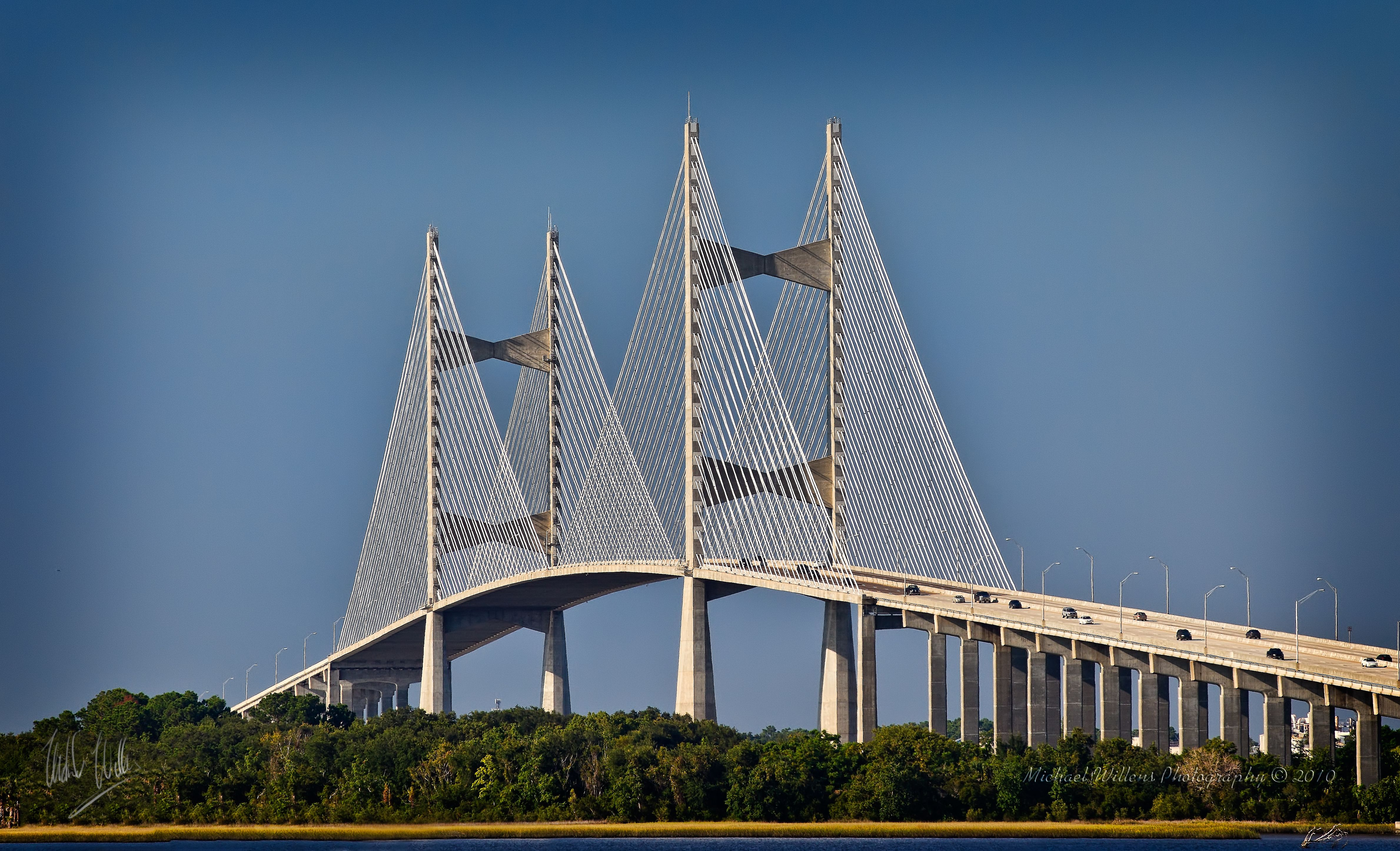 Dames Point Bridge, Jacksonville, Florida. | The Sunshine State ...