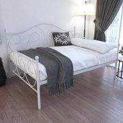 Home Metal Platform Bed Metal Daybed Leather Platform Bed