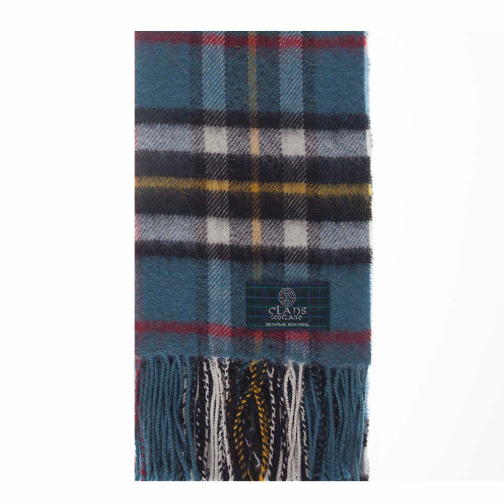 Thomson Blue Tartan Scarf from Gretna Green #TartanScarf #PlaidScarf £14.99