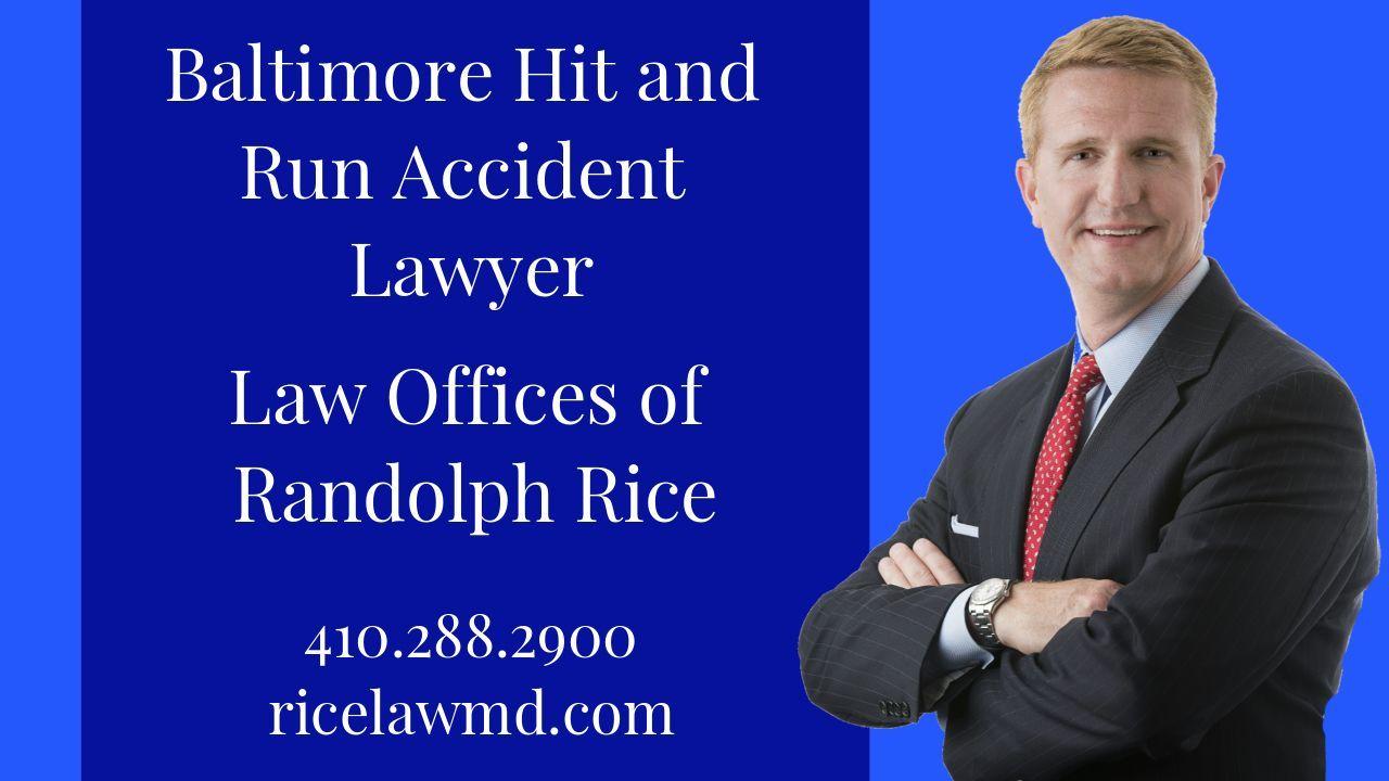 Baltimore Maryland Hit Run Accident Injury Lawyer Medical