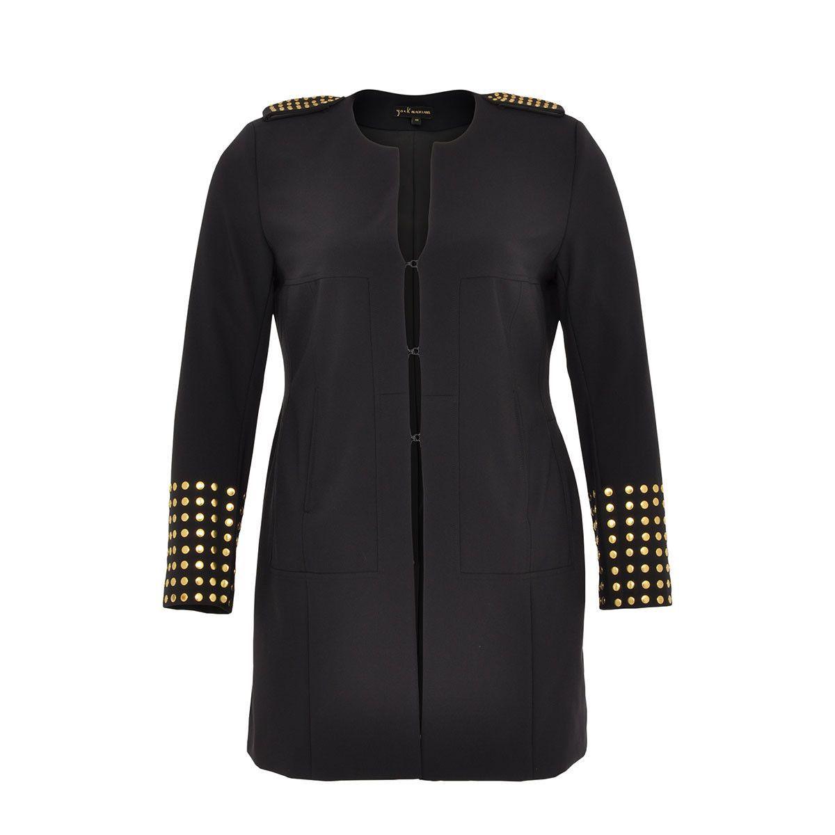 Yoek Black Label Long Studded Jacket