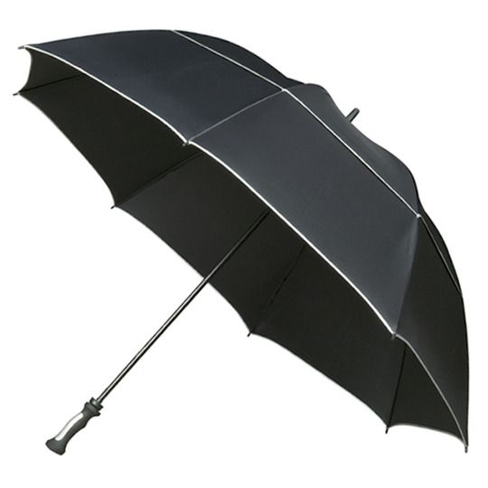 MaxiVent XXL Black Umbrella #largeumbrella