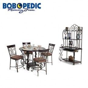 Bombay Pub 6 Piece Dining Set