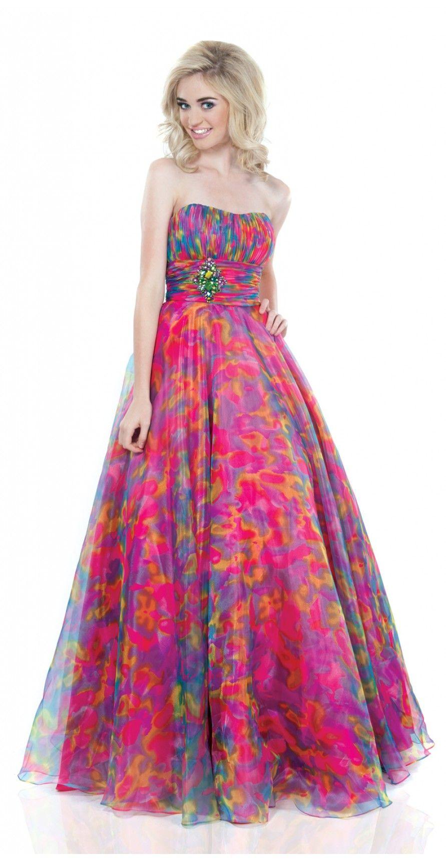 rainbow junior bridesmaid dress | my fav. bridesmaid dresses ...