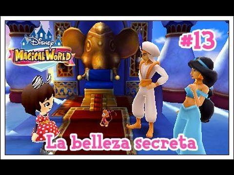 Disney Magical World #13 - El mundo de Aladdin y la belleza secreta!