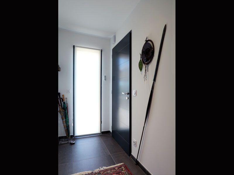 Une jolie maison landaise et contemporaine  porte du0027entrée