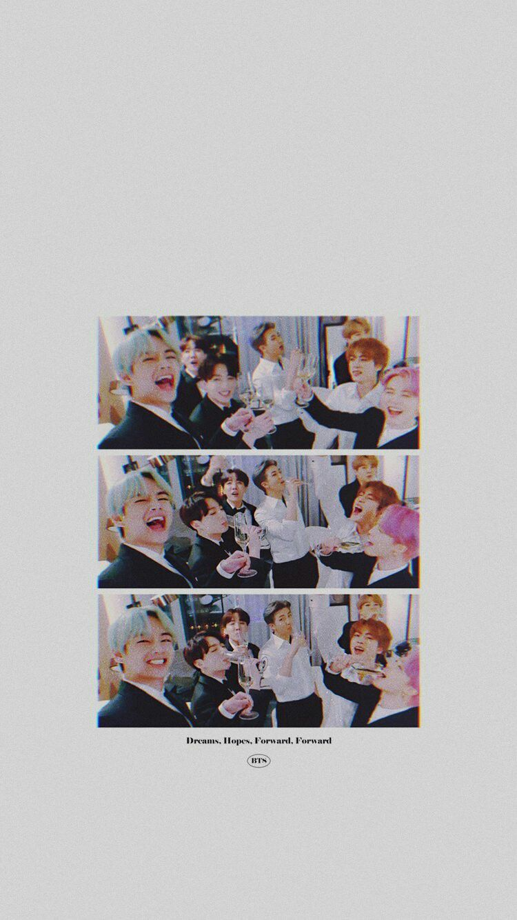 Cr Btsorbit Bts Grammys Bts Wallpaper Bts Aesthetic Wallpaper For Phone Bts Polaroid