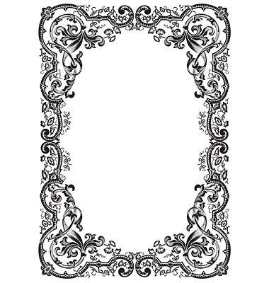 antique picture frames vector. Antique Frame Engraving Vector Picture Frames L