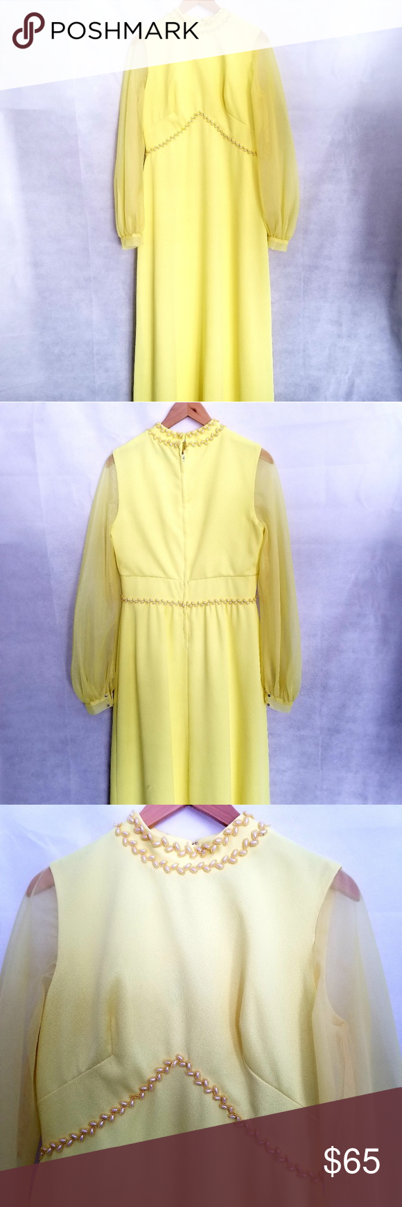 S brides by shirley yellow maxi dress yellow maxi dress