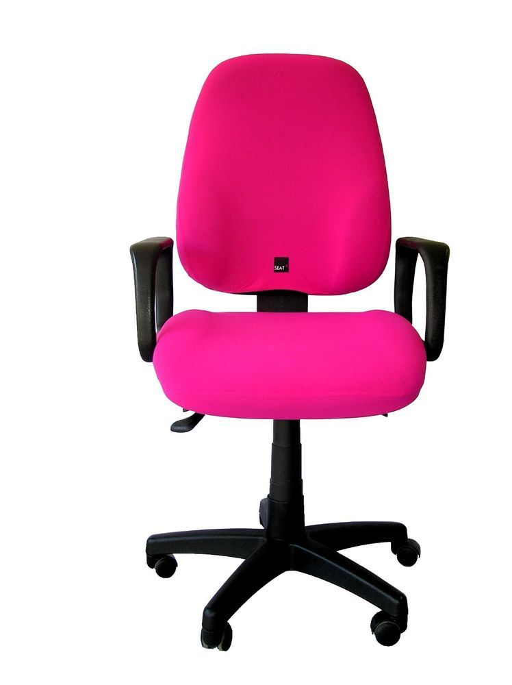 #Slipcover Office Chair Washable Stretchy Cover #SEATX One Size Hot Pink  Fuchsia #SeatX #Modern