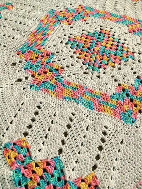 Ravelry: BabyLoveBrand\'s Retro Square Ripple Afghan | crochet ...