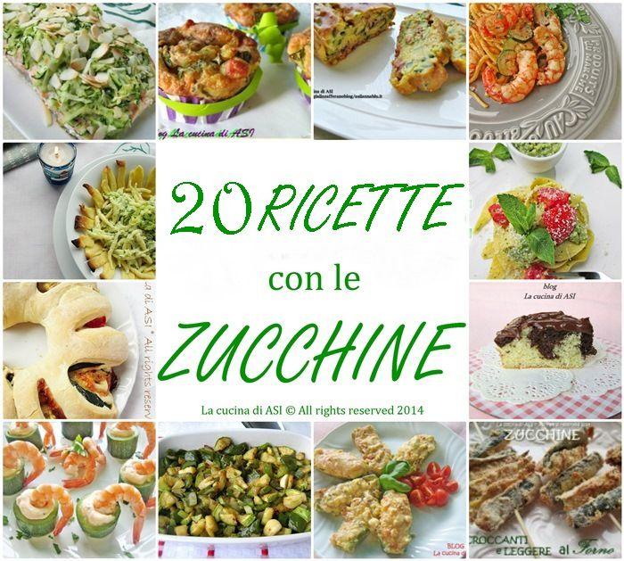 Raccolta ricette con zucchine le ottime verdure for Cucinare vegano