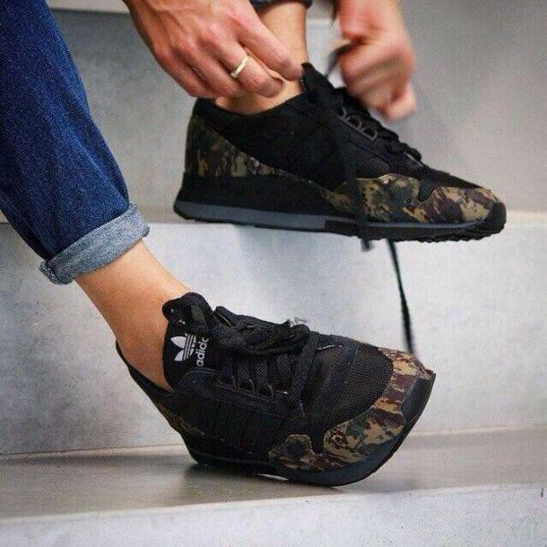 Shoes | Adidas camouflage