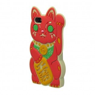 iPhone 5/5S - Maneki-Neko (Red)