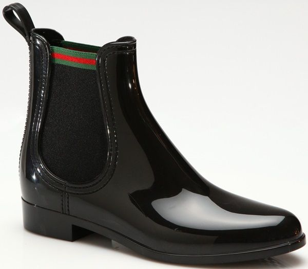 Classic and Luxurious Gucci 'Storm' Rain Boots