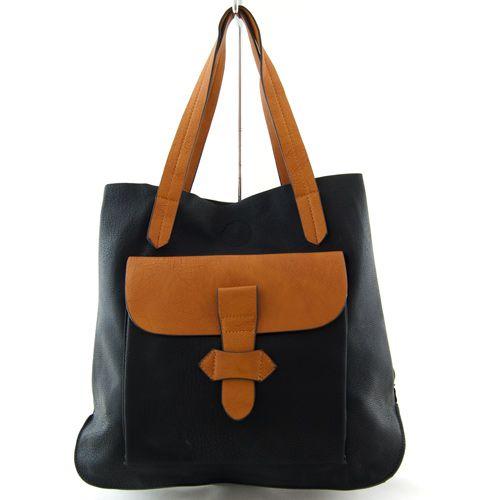 Czarno Camelowa Torebka 30 Bag