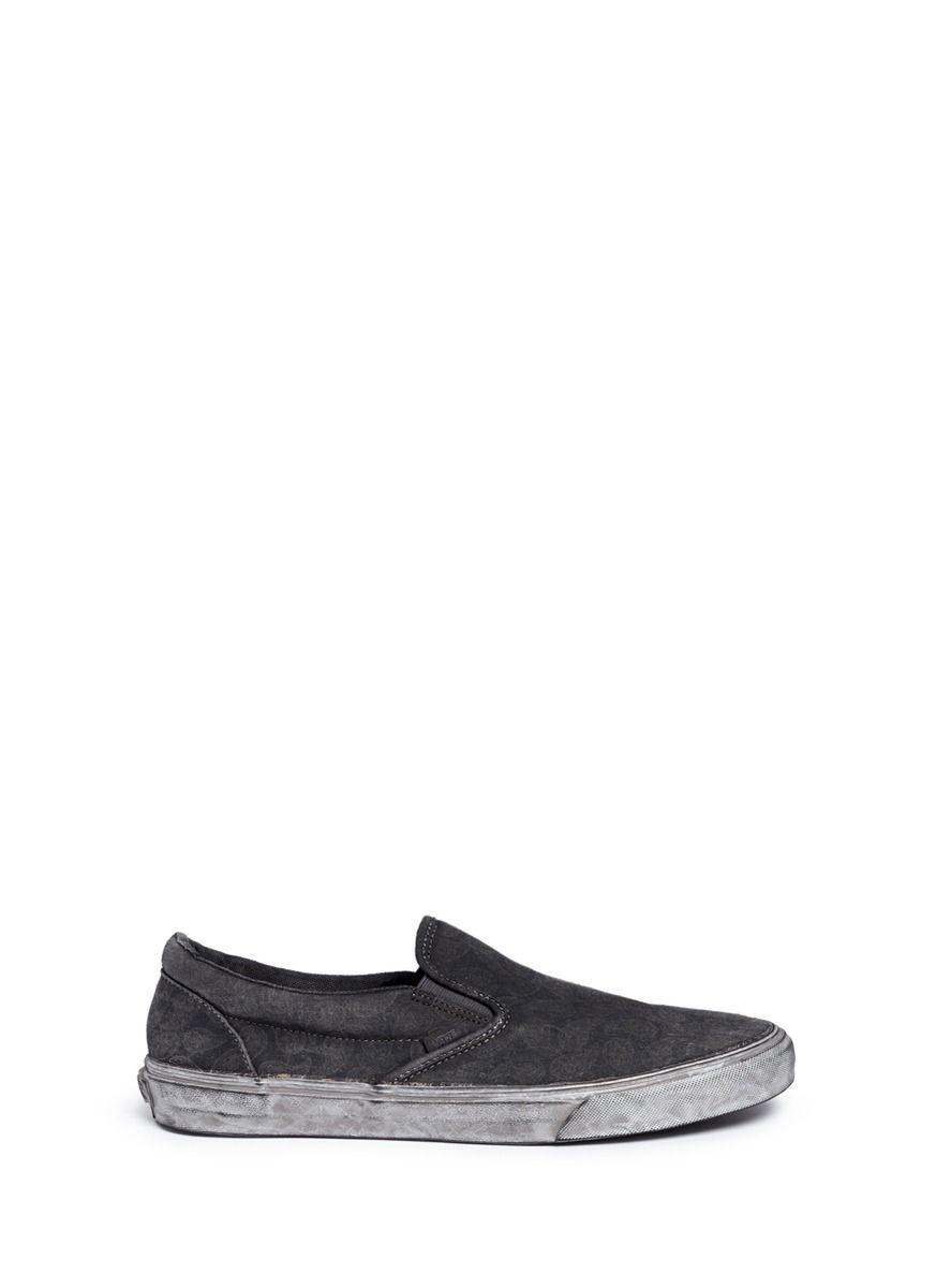 VANS 'Classic' Washed Paisley Print Skate Slip-Ons. #vans #shoes #slip-ons