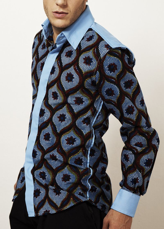 les chemises k v african style for men pinterest les chemises chemise et pagne. Black Bedroom Furniture Sets. Home Design Ideas