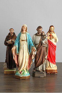 Vintage Religious Statues <3 .. X ღɱɧღ
