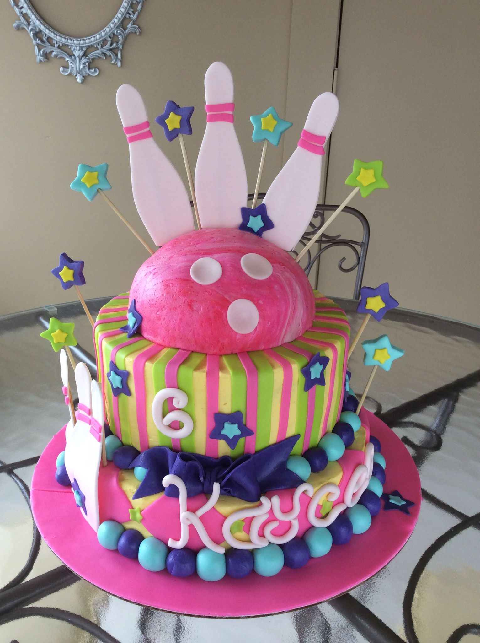 Bowling Cake My Cakes Pinterest Bowling Cakes And