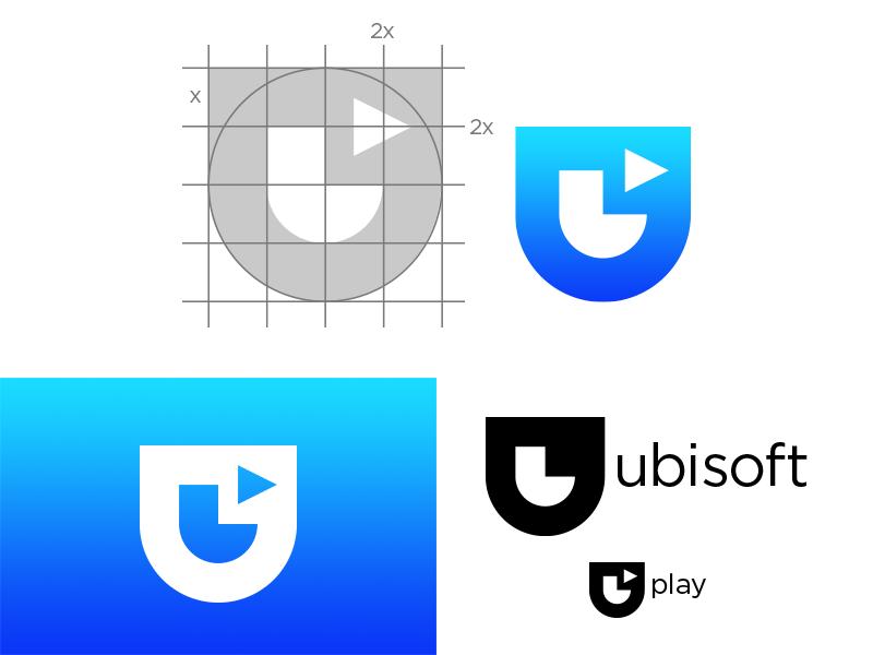 Ubisoft Logo Redesign Logo Redesign Developer Logo Logos