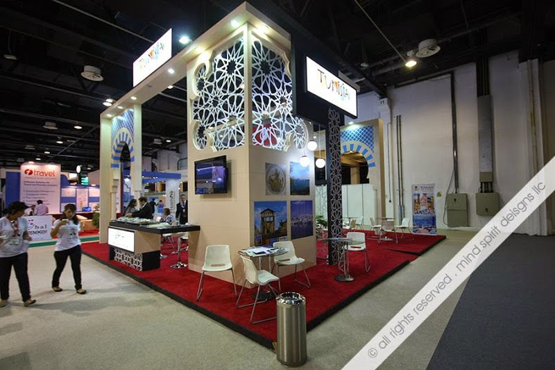 Exhibition Stand Manufacturers : Events companies in dubai exhibition stall