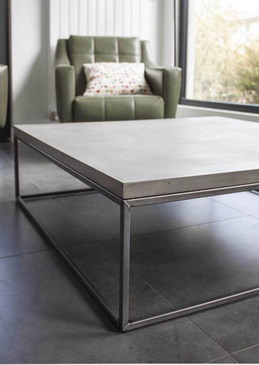 Concrete Perspective Coffee Table Lyon Beton Coffee Table Concrete Coffee Table Concrete Furniture [ 1271 x 900 Pixel ]