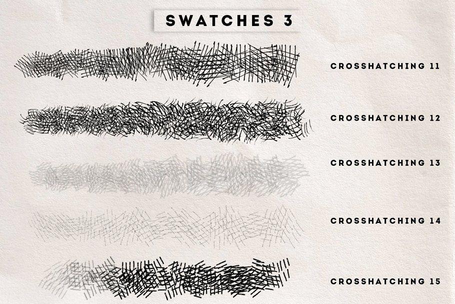 Crosshatching Procreate brushes (с изображениями)