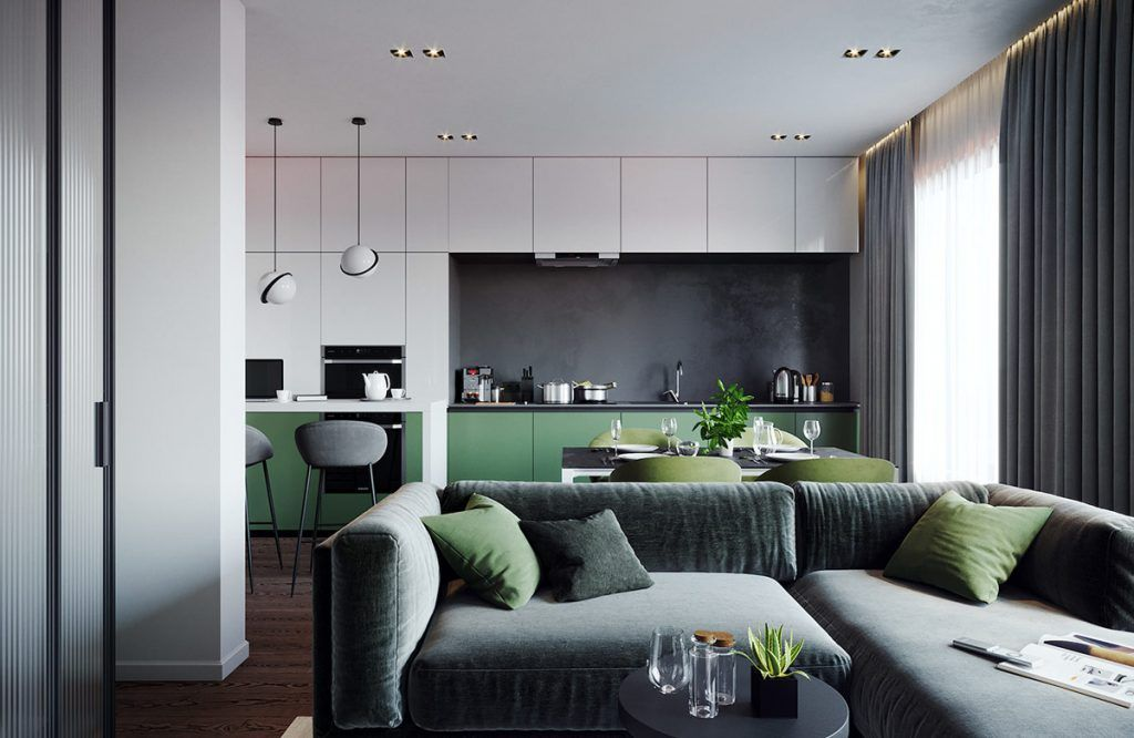 green decor schemes that help you feel closer to nature also real rh pinterest