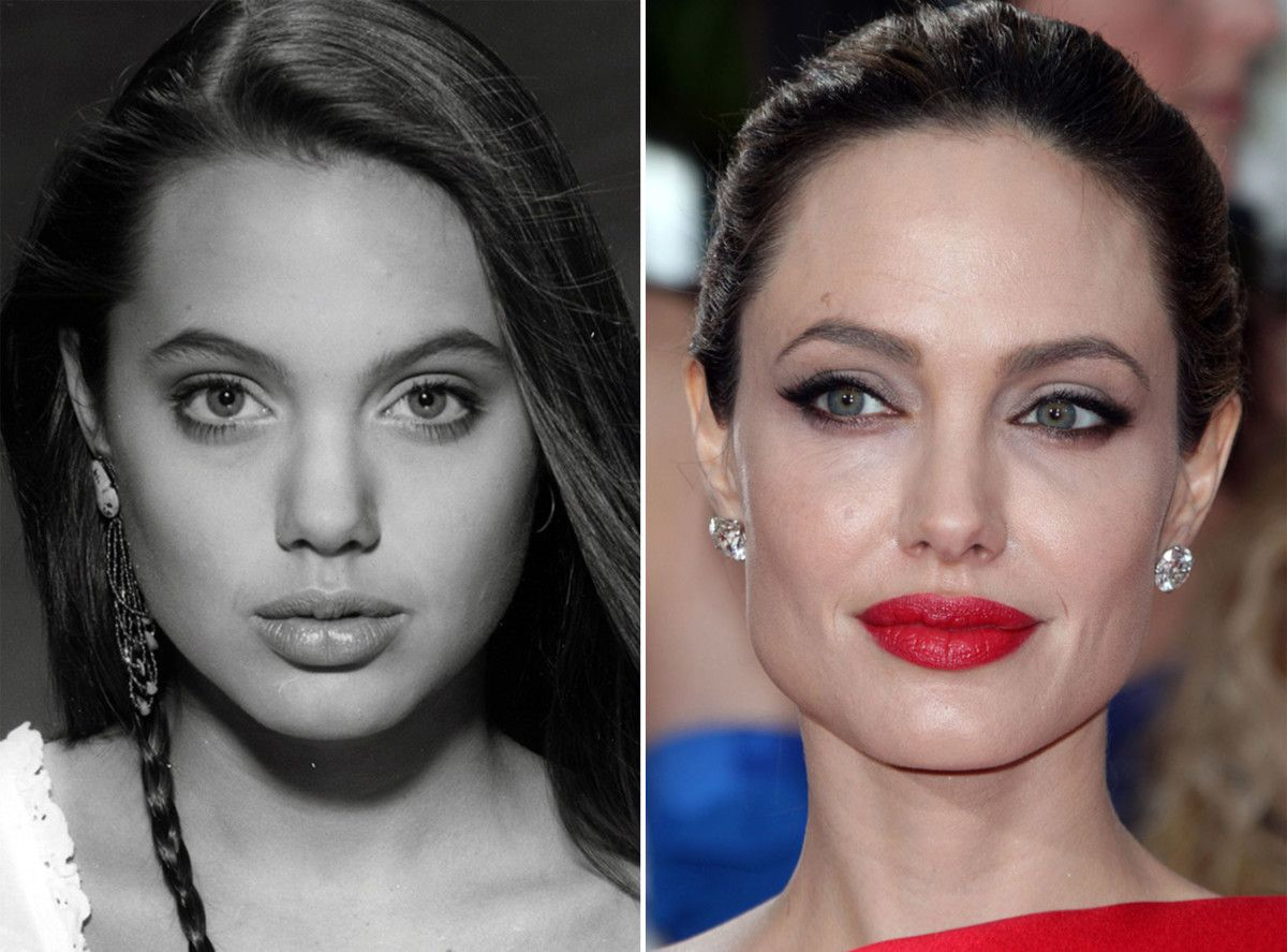 angelina jolie, before and after | download | angelina jolie