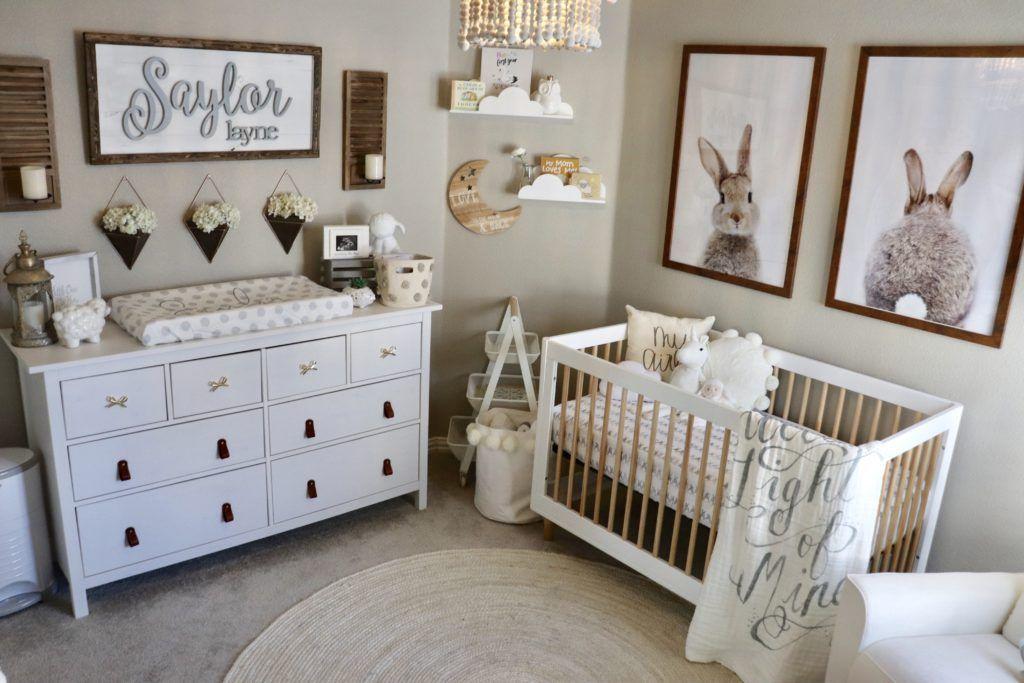 I Am Not A Major Pink Fan So My Goal Was To Create A Classy Sweet Feminine Nursery Without It I Use Nursery Baby Room Baby Boy Room Nursery Nursery Room